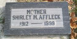 Shirley Marie <I>Martin</I> Affleck