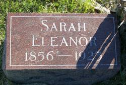 Sarah Eleanor <I>Robertson</I> Barnes