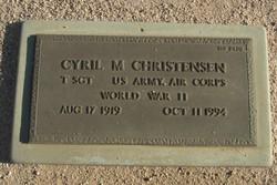 Cyril M Christensen