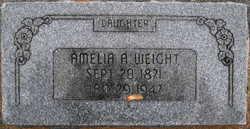 Amelia Ann Weight