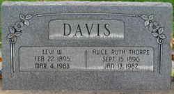 Levi Washington Davis