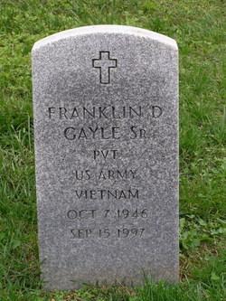 Franklin D Gayle, Sr