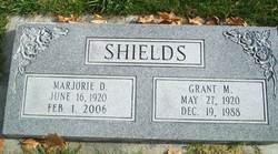 Grant M Shields