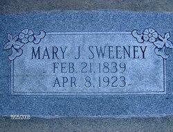 Mary Jane <I>Edwards</I> Sweeney