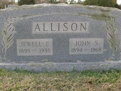 Jewell E <I>Oglethorpe</I> Allison