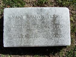 Mary <I>Brown</I> Ferris