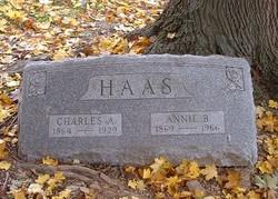 Annie B. <I>Neumyer</I> Haas