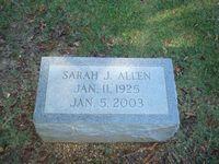 Sarah J. Allen