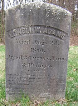 Lowell Wales Adams