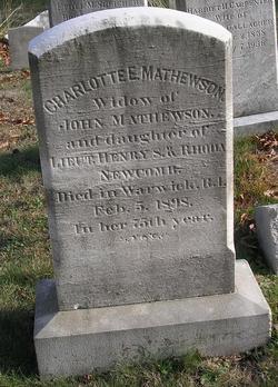 Charlotte E. <I>Newcomb</I> Mathewson