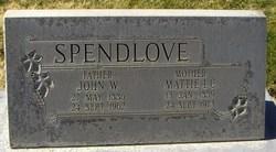 Mattie Isabell <I>Campbell</I> Spendlove