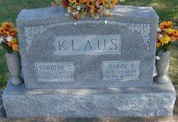 Loretta Christina <I>Schaefer</I> Klaus
