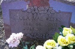 Ola Mae <I>Templeman</I> Weeks