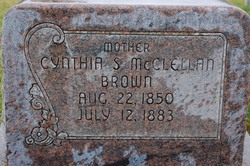 Cynthia Selena <I>McClellan</I> Brown