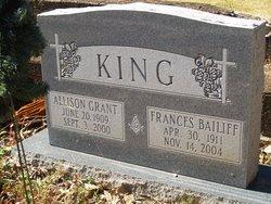 Allison <I>Grant</I> King