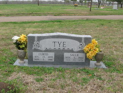 Sallie Elizabeth <I>Pitts</I> Tye