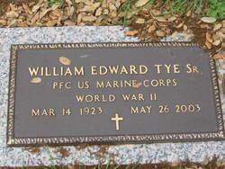 """William Edward """"Bunk"""" Tye, Sr"""