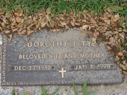 Dorothy Lee <I>Hogan</I> Tye