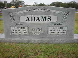 Doris <I>Basham</I> Adams
