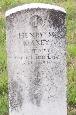 PFC Henry Madison Maxey