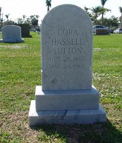 Cora Mae <I>Hassell</I> Sutton