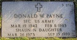 Donald William Payne