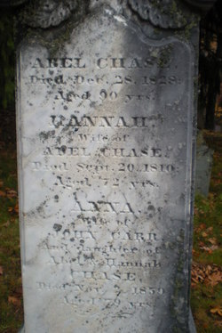Lieut Abel Chase