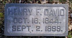 Henry F David
