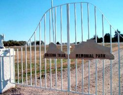 Oregon Trail Memorial Park Cemetery in Bridgeport, Nebraska