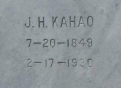 J H Kahao