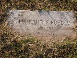 William Rufus Boyd, IV