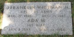Ada M Whitman