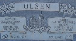 Carlos Clifford Cliff Olsen