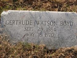 "Mary Gertrude ""Gertye"" <I>Watson</I> Boyd"