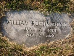William Rufus Boyd, Jr.