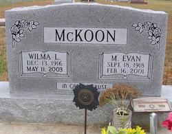 Wilma L McKoon