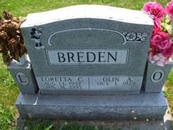 """Olin Arthur """"Blackie"""" Breden"""