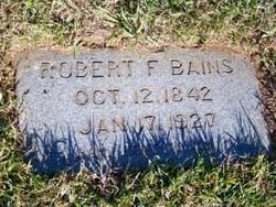 Robert Fits Bains