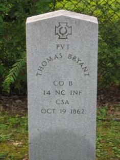 Pvt Thomas Bryant