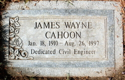 James Wayne Cahoon