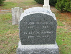Calvin Backus Jr.
