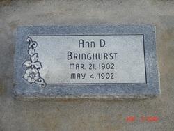 Ann Dilworth Bringhurst