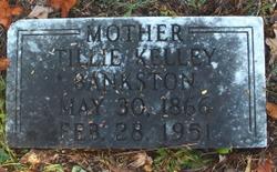 """Talitha A. """"Tillie"""" <I>Kelley</I> Bankston"""
