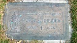 Eva <I>Riccomini</I> Schneider