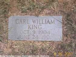 Carl William King