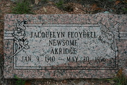 Jacquelyn Floydell Newsom Akridge