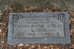 Lillian Bonnie Juneau Alston