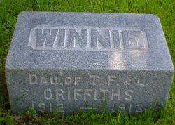 """Winnefred Jane """"Winnie"""" Griffiths"""
