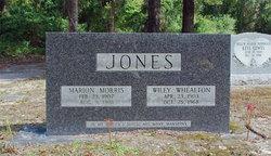 Marion <I>Morris</I> Jones