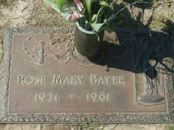 Rose Mary Bayer
